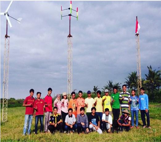 Turbin Angin lentera Bumi Nusantara